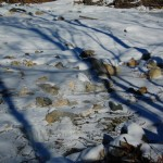 Ice, snow, and stone