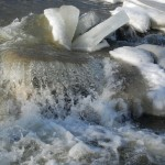 Cascades of ice and water