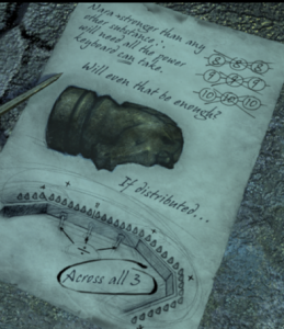 Another Note at Sirrus' desk